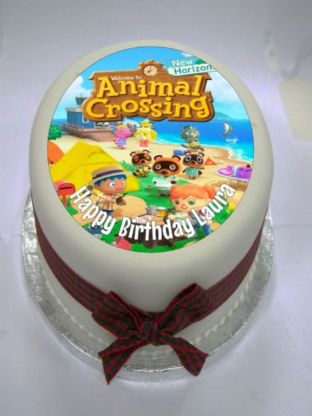 Animal Crossing Edible Cake Topper